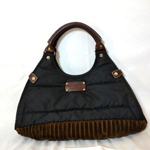 Kate Spade Nylon and Faux Fur Bag